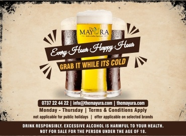The Mayura restaurant Gallery Happy Hours