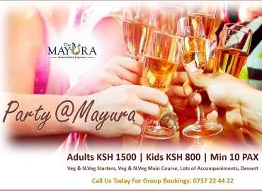 The Mayura restaurant gallery Group Party