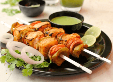 The Mayura restaurant paneer tikka